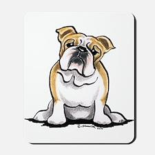 Cute English Bulldog Mousepad