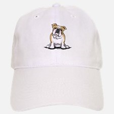 Cute English Bulldog Baseball Baseball Cap