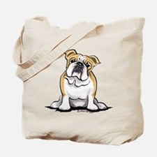 Cute English Bulldog Tote Bag
