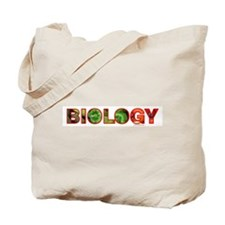 Biology Pepper Text Tote Bag