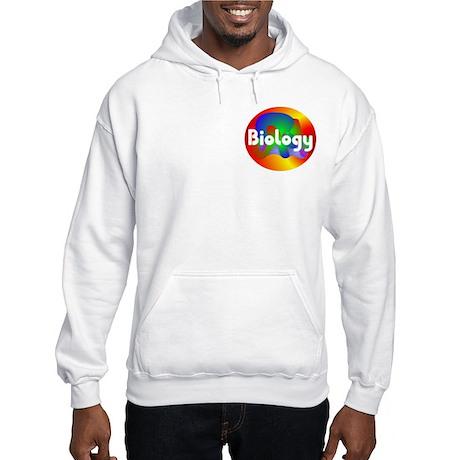 Biology Sphere Pocket Image Hooded Sweatshirt