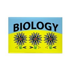 Biology Illusion Rectangle Magnet (10 pack)