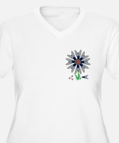 Fly Flower Illusion T-Shirt