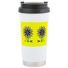 Fly Flower Illusion Travel Mug