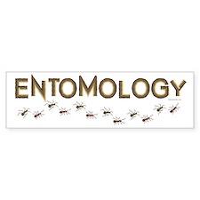 Entomology Car Sticker