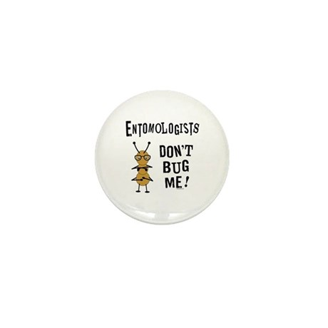 Entomologists Mini Button (100 pack)