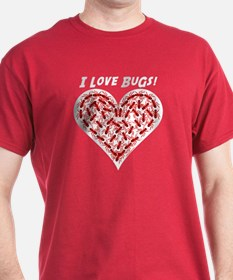 Red Love Bugs T-Shirt