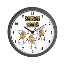 Science Rocks Wall Clock