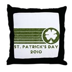 St. Patrick's Day 2010 Throw Pillow