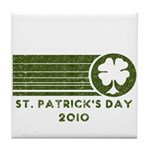 St. Patrick's Day 2010 Tile Coaster