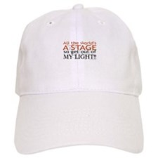 Get Out Of My Light! Baseball Cap