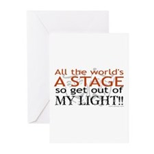 Get Out Of My Light! Greeting Cards (Pk of 10)
