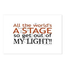 Get Out Of My Light! Postcards (Package of 8)
