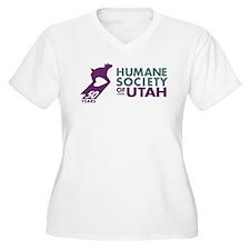 HSUHorizontal 50ColorTrans Plus Size T-Shirt