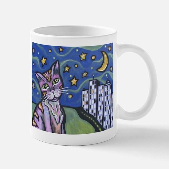Starry Cat Mug