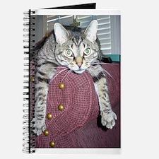 Cute Gray tabby Journal