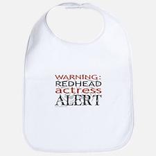 Warning: Redhead Actress Bib