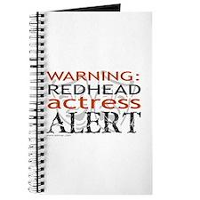 Warning: Redhead Actress Journal
