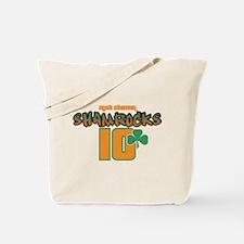 Irish Channel Shamrocks Tote Bag