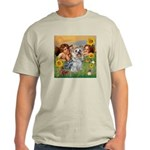 Angels with Yorkie Light T-Shirt