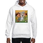 Angels with Yorkie Hooded Sweatshirt