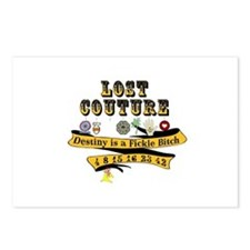 Lost Couture Postcards (Package of 8)