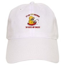 Fishing Gag Gift For 75th Birthday Cap