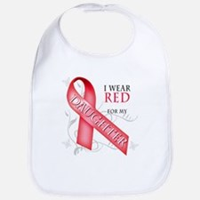 I Wear Red for my Daughter Bib