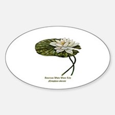 White Water Lily Decal