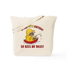 Fishing Gag Gift For 50th Birthday Tote Bag