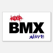 Keep BMX Alive Sticker (Rectangle)