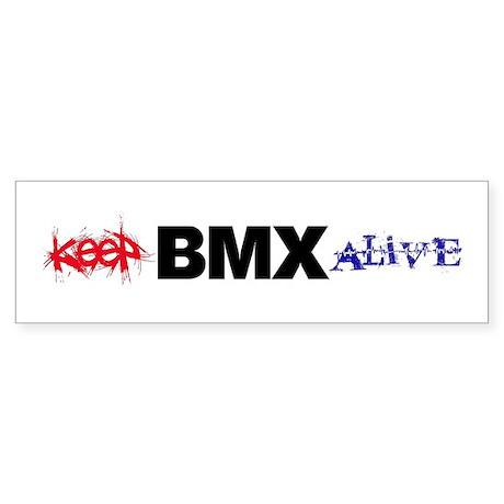 Keep BMX Alive Sticker (Bumper)
