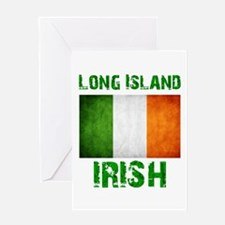 Long Island IRISH Greeting Card