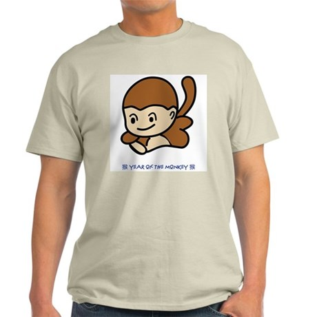 Year of the Monkey Ash Grey T-Shirt