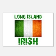 Long Island IRISH Postcards (Package of 8)