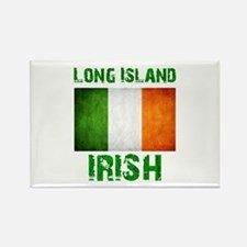 Long Island IRISH Rectangle Magnet