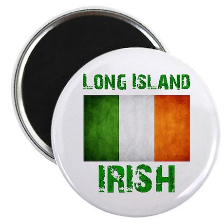 "Long Island IRISH 2.25"" Magnet (100 pack)"