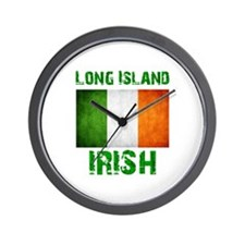 Long Island IRISH Wall Clock