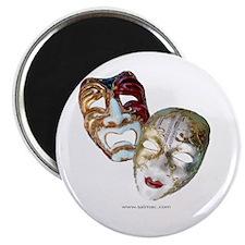 Drama Masks Magnet