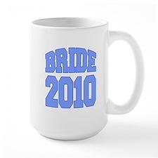 Bride 2010 Blue Mug