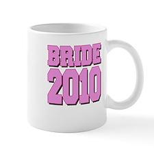 Bride 2010 Pink Shadowed Mug