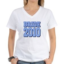 Bride 2010 Blue Shadowed Shirt