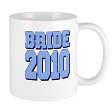 Bride 2010 Blue Shadowed Mug