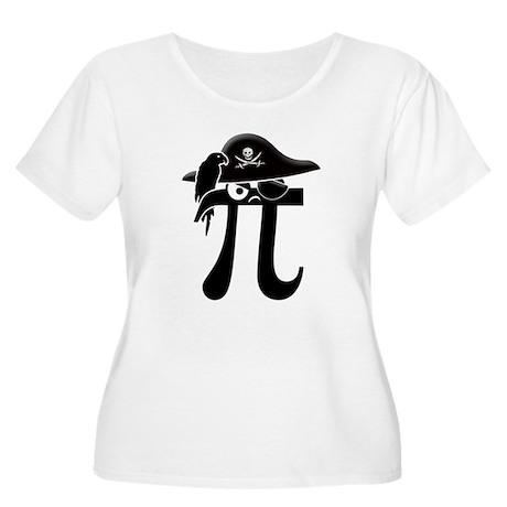 Pi-Rate Women's Plus Size Scoop Neck T-Shirt