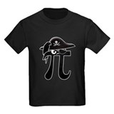 Pi rate Kids T-shirts (Dark)