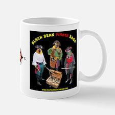 Black Beak Saga Black Mug