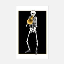 Skeleton Trumpeter Decal