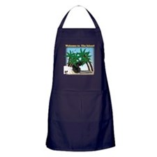 Cute Monsters and mysteries Apron (dark)