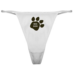 Big Dog paw Classic Thong