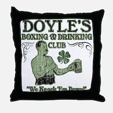 Doyle's Club Throw Pillow